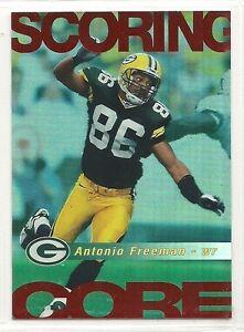 1999 Score Football - Scoring Core - #1 - Antonio Freeman - Green Bay Packers
