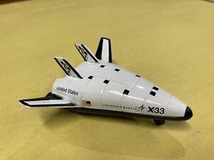 Lockheed Martin Skunk Works X-33 Reusable Space Shuttle Die Cast Matchbox Ship