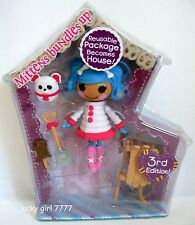 LaLaLOOPSY *MITTENS Bundles Up* Mini Collectible Doll Series 4 #4 NIP FREE SHIP