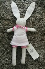 Petite Bateau Baby Bunny Rabbit Soft Toy Lapin Doudou *Brand New with Tags*