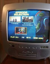 """Audiologic P1430 14"""" DVD player for Retro Gaming + remote control -for CHARITY"""