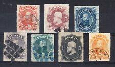 Brazil Scott 61-67 Used (Catalog Value $175.25)