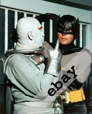 BATMAN & Mr Freeze tv show Otto Preminger & Adam West 8X10 PHOTO #1756