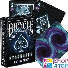 BICYCLE STARGAZER PLAYING CARDS DECK MAGIC TRICKS SPACE USPCC SEALED USA NEW
