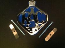 RAC-CAR-BADGE-BAR-BADGE-CHROME-PLATE-BLUE-BACKING 7
