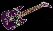 Milwaukee Bucks Guitar Pin ~ NBA ~ Basketball
