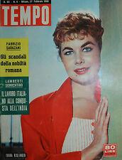 TEMPO N° 09/ 27.FEB.1958 - IVANA KISLINGER - BRIGITTE BARDOT -