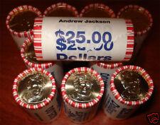 2008 Andrew Jackson Presidential $1 ROLL(25)
