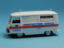 NOREV 472112 PEUGEOT J9 AMBULANCE PROTECTION CIVILE 1:87