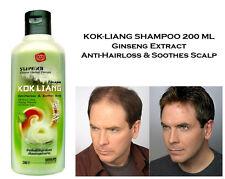 KOKLIANG Chinese Herbal Shampoo Ginseng Extract Growth Hair Loss Scalp Treatment