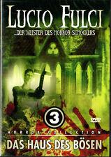 Lucio Fulci - Der Meister des Horror Schockers 3, Das Haus des Bösen, DVD NEU
