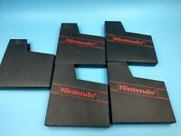 jeu video nintendo nes loose BE lot de fourreaux nintendo