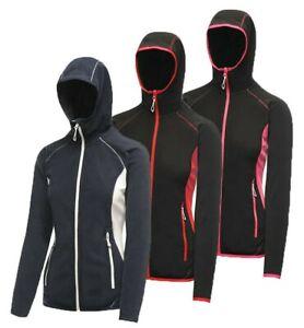 Regatta Seoul Womens Hooded Hoodie Hoody Full Zip Fleece Jacket Top RRP £40
