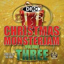 DMC Christmas Monsterjam Vol 3 Megamix Music DJ CD Mixed Remixed Disc