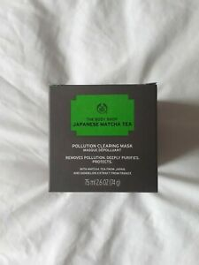 The Body Shop Matcha Tea Pollution Clearing Mask 75ml - 100% Vegan from Japan