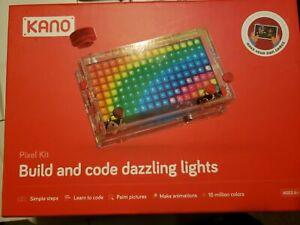 Brand new Kano Pixel Kit | Make Code with Light FREE SHIPPING