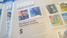 US Postage Set of Celebrate the Century 1900's to 1990's MNH Face $43.95