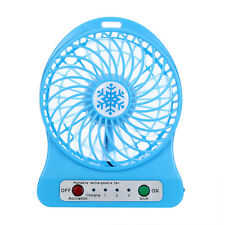 Mini Air Conditioner Cooler Cooling Fan Hand Held Portable USB Battery LED Light