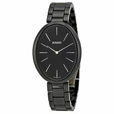 Rado R53093152 Women's Esenza Ceramic Black Quartz Watch