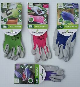 Showa 370 Floreo Gardening Gloves XS to XL with Free Postage - Simply the Best