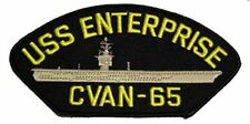 USS ENTERPRISE CVAN-65 PATCH USN NAVY SHIP BIG E AIRCRAFT CARRIER NUCLEAR
