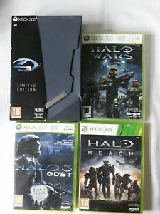 Halo Bundle for Microsoft xbox 360 - Halo 4 Limited edition, Halo Wars, Halo...