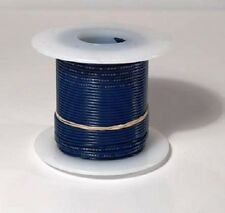 22 AWG UL1007 UL1569 BLUE Hook-up Wire 100 foot spools ~ 10 Colors Available!