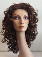 MT-990 Wig full, curly color: Dark Auburn 30