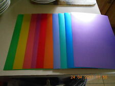 CREATE AND CRAFT A4 MIRROR/SATIN CARD - 10 SHEETS ALL DIFFERENT COLOURS