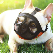 Pet Dog Muzzles For Short Nosed Breed Dog French Bulldog Anti Biting Mouth Cover