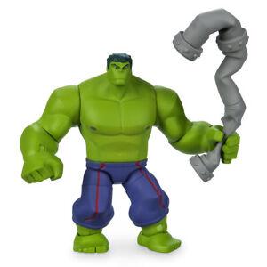 "Authentic Disney Hulk Action Figure 6"" Marvel ToyBox Toy New"