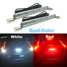 2x Universal White 30-SMD LED Lamps For Car Truck SUV License Plate,Backup Light