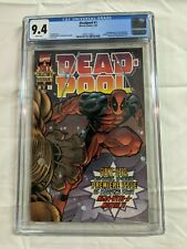 DEADPOOL 1 CGC 9.4 (1997) Marvel Key Issue White Pages Wraparound Cover X-Men