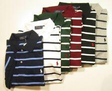 Polo Ralph Lauren Big & Tall Men's Classic Fit Striped Interlock Polo Shirt