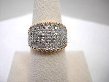 Diamond Band Ring 10KT Yellow Gold 1CT Sz. 7
