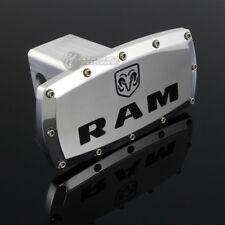 "DODGE RAM Hitch Cover Plug Cap 2"" Trailer Tow Receiver w/ ALLEN BOLTS DESIGN"