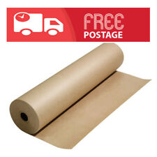 Brown Packaging Kraft Paper Roll 80 GSM -Plz choose length and width 450mm-900mm