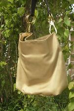 JPK Paris 75 Classic SHOULDER Bucket Bag HANDBAGS EVENING PURSE LEATHER GOLD