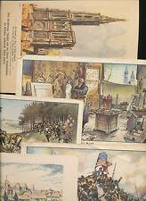 Bilder aus Sammelalben (bis 1945) mit Geschichts-Motiv