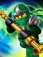 """ken 127 LEGO - NinjaGo Green Lloyd ZX Game 14""""x19"""" Poster"""