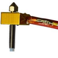 MK8 Assembled Extruder Hot End For Prusa I3 3D Printer Brass Nozzle 1.75MM 0.4MM
