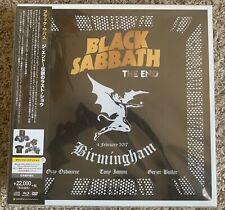 Black Sabbath The End Japanese Box Set LP/DVD/CD/Tshirt Etc