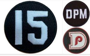 (3) Philadelphia Phillies Memorial Jersey Patch - Dick Allen Dallas Green DPM