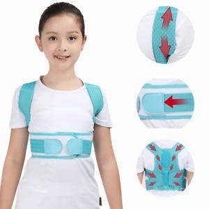 Adjustable Children Posture Corrector Back Support Belt for Kids
