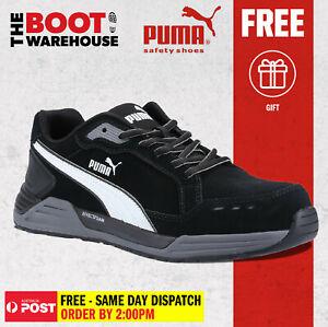 Puma AIRTWIST BLACK 644657 - Light Weight, Metal Free Safety Shoe / Jogger.