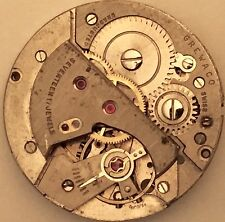AS A. Schild Caliber1194 Watch Movement~Good Balance, No stem
