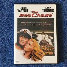 THE SEA CHASE JOHN WAYNE LANA  TURNER TAB HUNTER LIKE NEW WARNER WIDESCRREN DVD