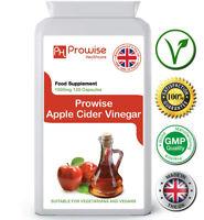 Apple Cider Vinegar 500mg 120 Cap Supports Digestion & Fluid Balance - Prowise