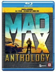 Mad Max Anthology Blu Ray