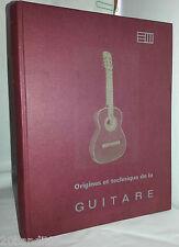 ORIGINES TECHNIQUE GUITARE JACQUES HUBER ED. MORF 1968